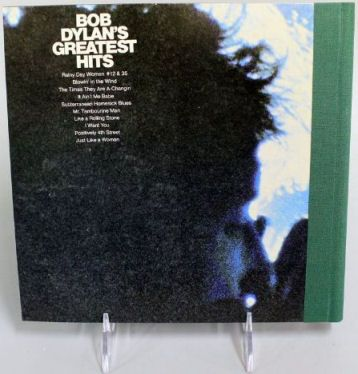 bob dylan greatest hits mono back note book