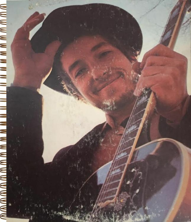 bob dylan nashville skyline original spiral bound notebook