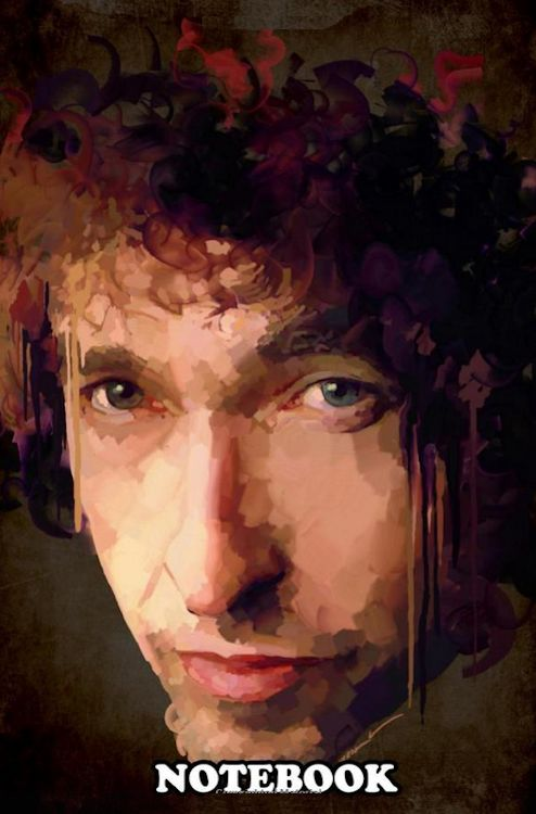 digital art bob dylan notebook