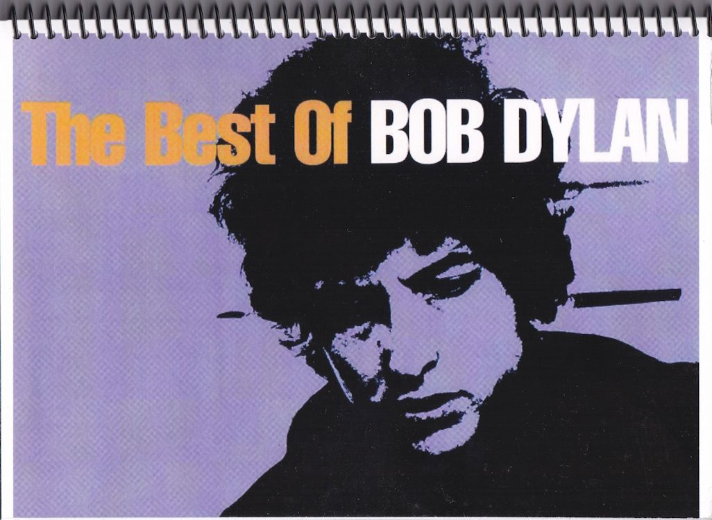 the best of bob dylan notebook