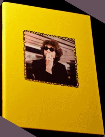 thinking bob dylan note book