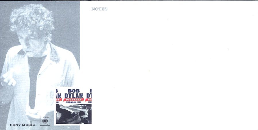 bob dylan together through life note book