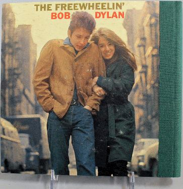 bob dylan freewheelin' back note book