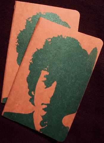 bob dylan pocket size note book