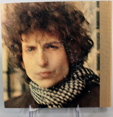bob dylan blonde on blonde back note book
