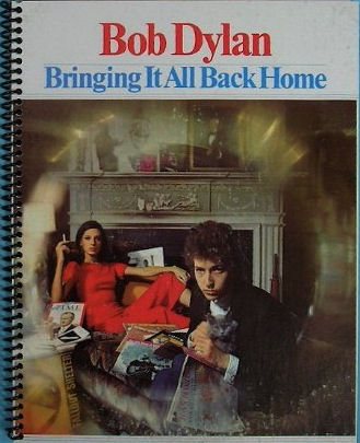 bob dylan bringing it all back home original spiral bound note book