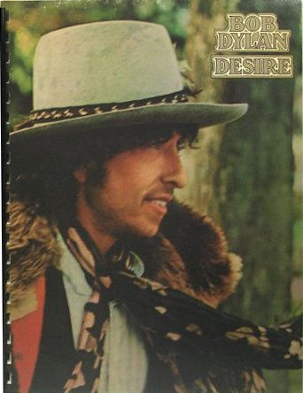 bob dylan desire original spiral bound note book