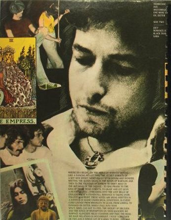 bob dylan desire original back note book