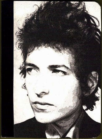 bob dylan mini journal note book