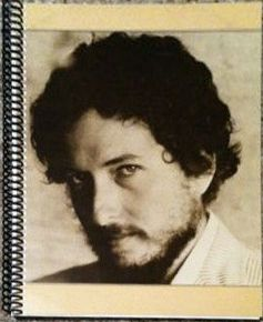 bob dylan new morning original spiral bound note book