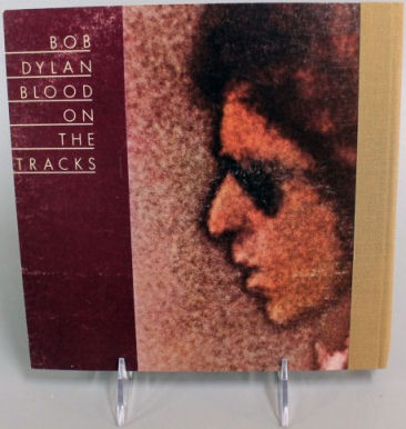 bob dylan blood on the tracks back notebook