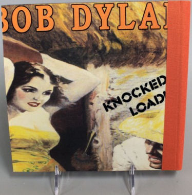 bob dylan knocked out loaded back notebook