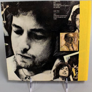 bob dylan desire back cover back note book