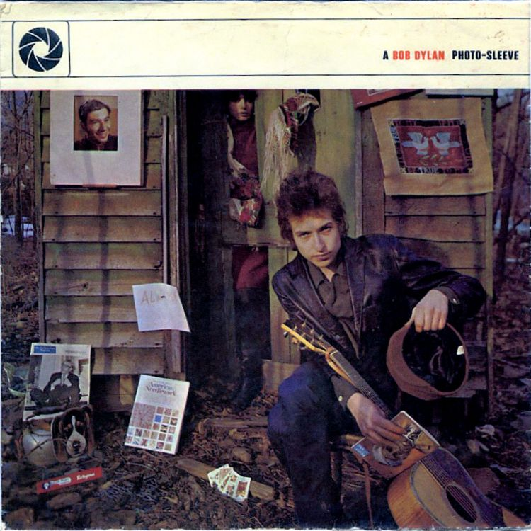 bob dylan 1965 photo-sleeve front