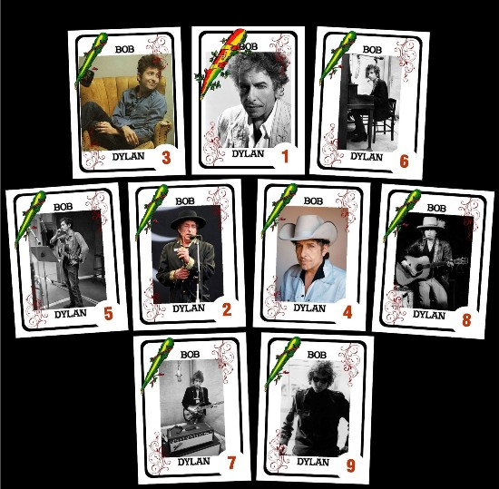 bob dylan playing cards argentina #3