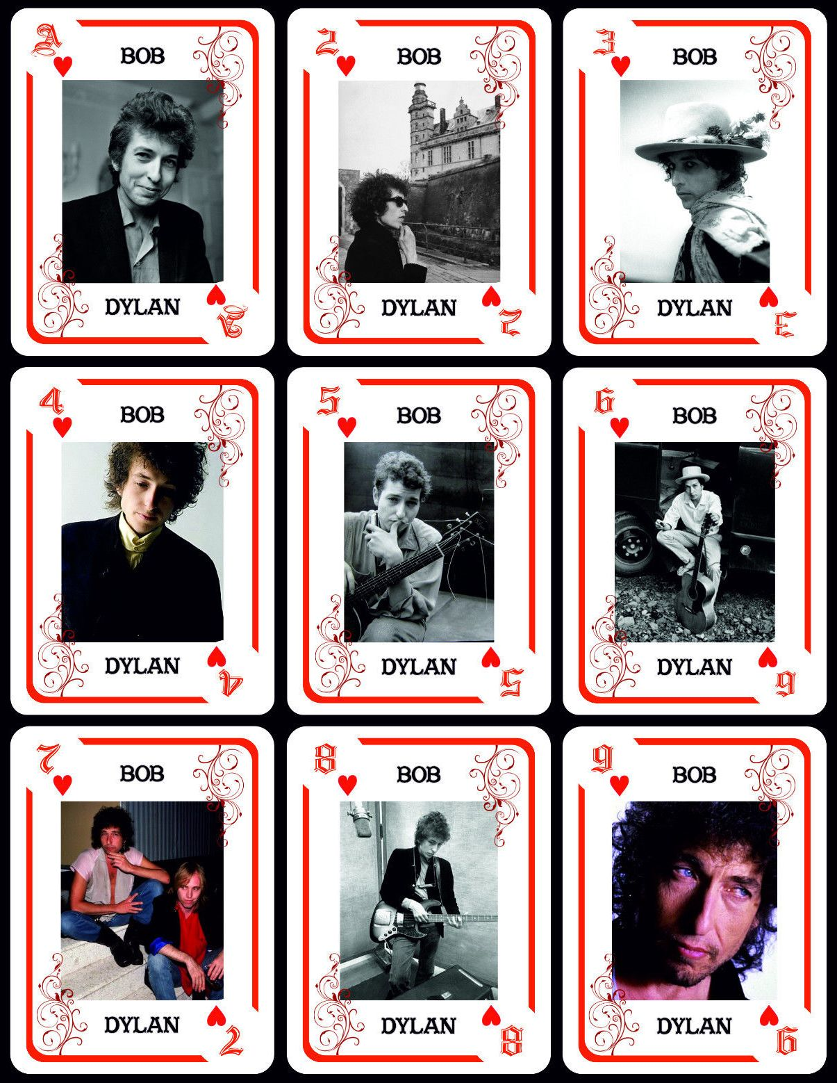 bob dylan playing cards argentina #2