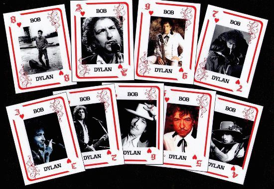 bob dylan playing cards argentina