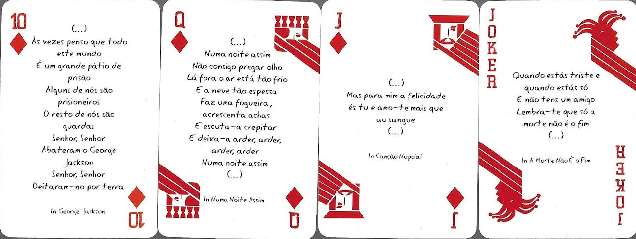 bob dylan cards portugal