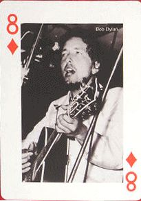 bob dylan playing cards poker 2005