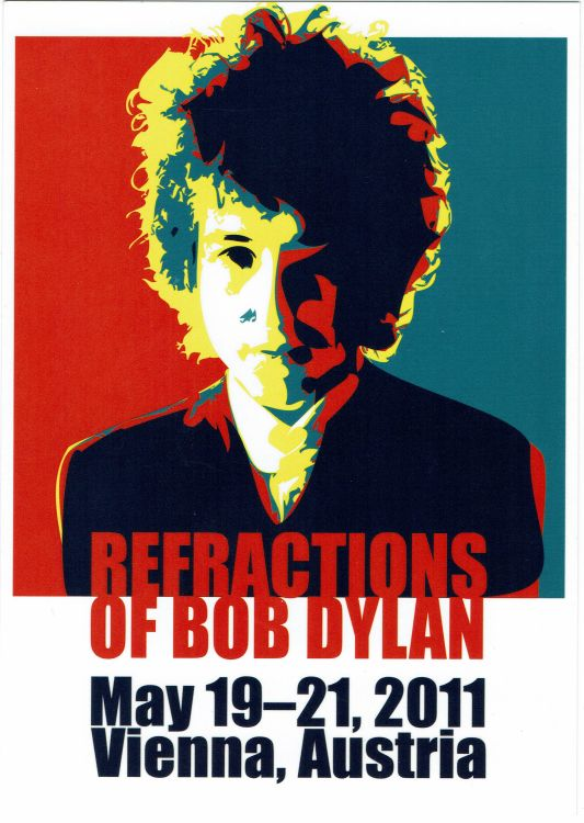 Refractions Of Bob Dylan exhibition