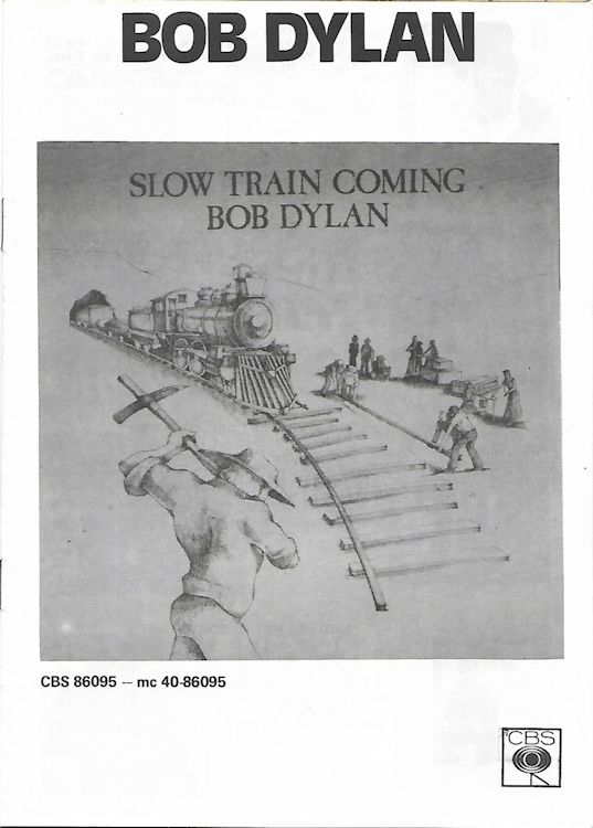 bob dylan slow train coming promo