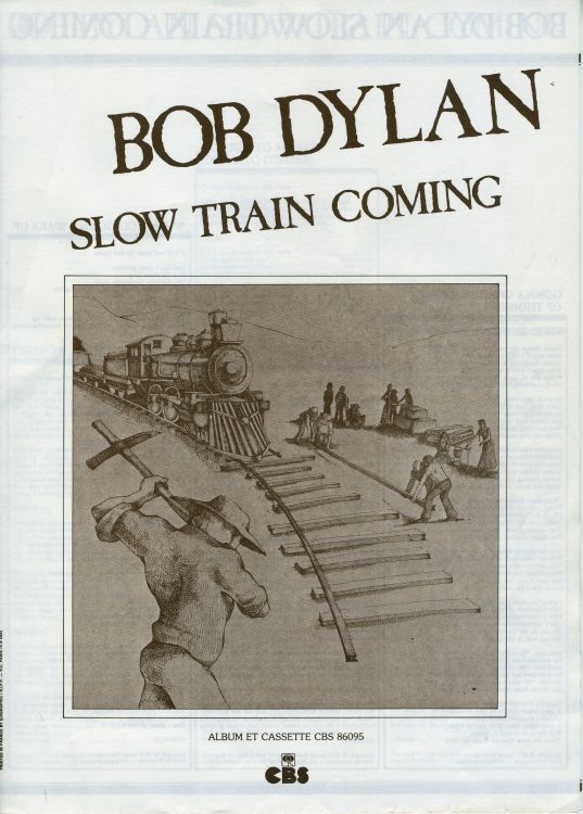 cbs france bob dylan slow train coming promo