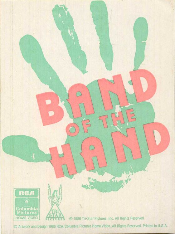 bob dylan band of the hand sticker