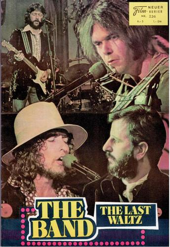 bob dylan the band the last waltz film
