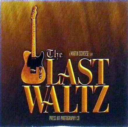 The Last Waltz DVD press kit 3