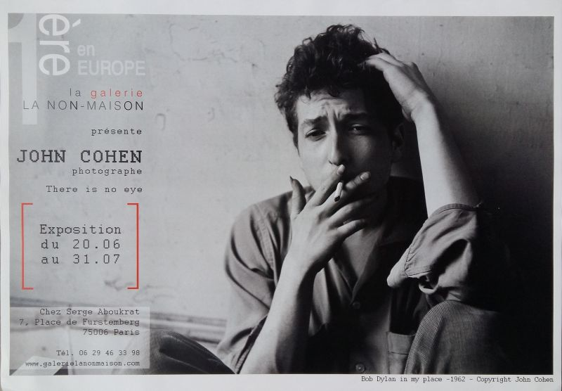 There Is No Eye John Cohen bob dylan exhibition