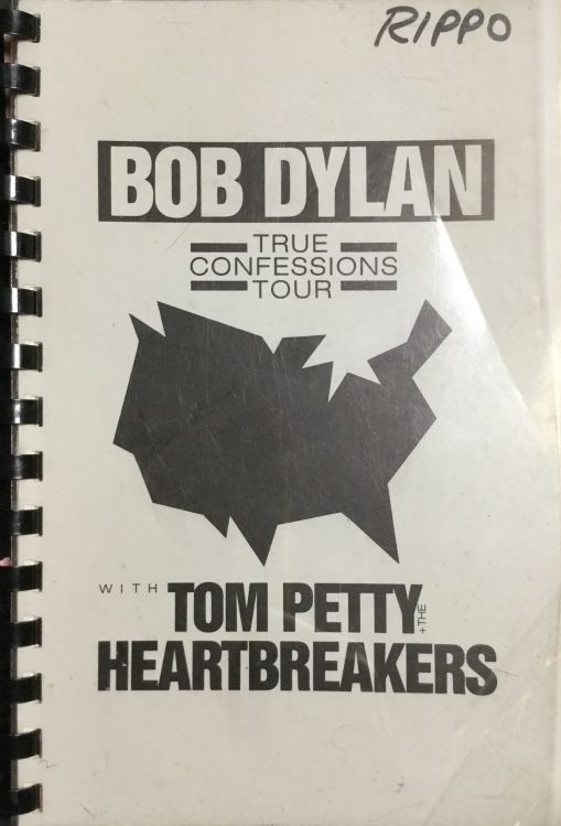 tour itineraries July 1986 bob dylan