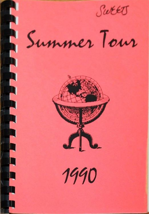 tour itineraries 1990 summer bob dylan