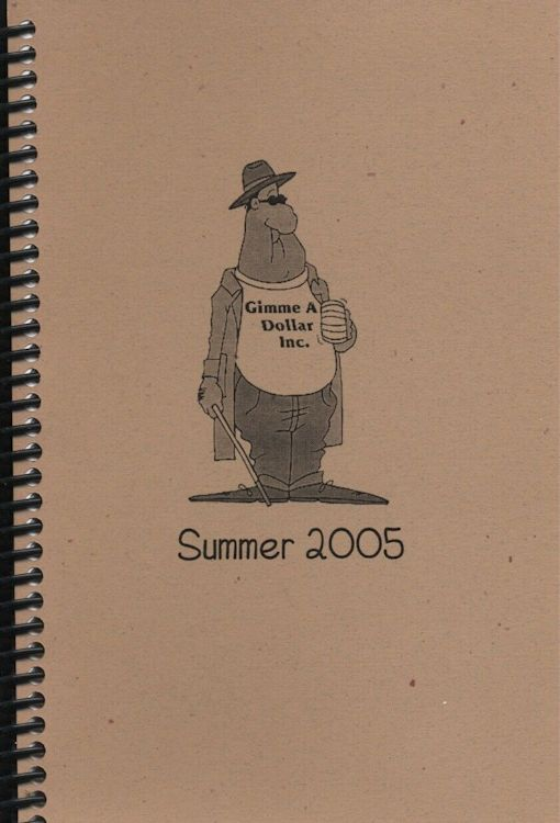 tour itineraries summer 2005 cover bob dylan