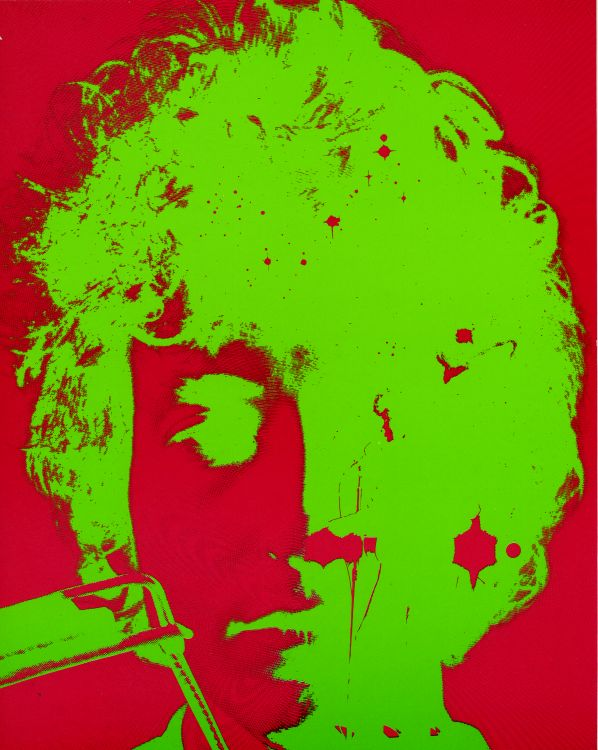 bob dylan trevor wright lithography #2