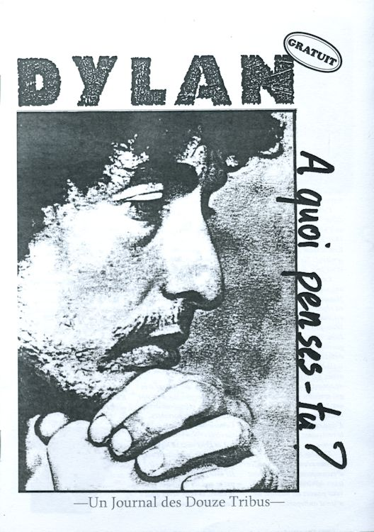 bob dylan twelve tribes  booklet #2