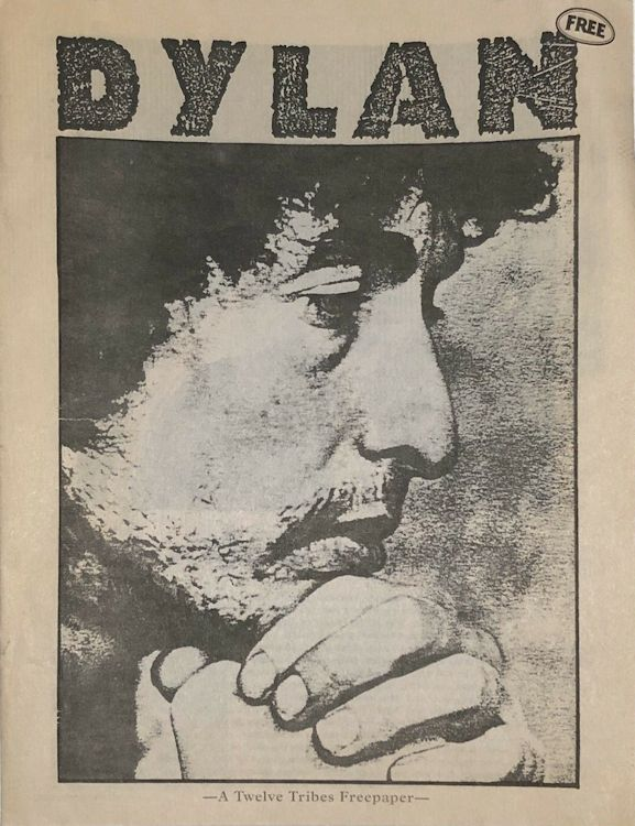 bob dylan twelve tribes booklet #4