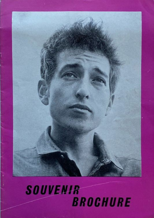 31 August 1969 Isle of wight unofficial Bob Dylan Programme