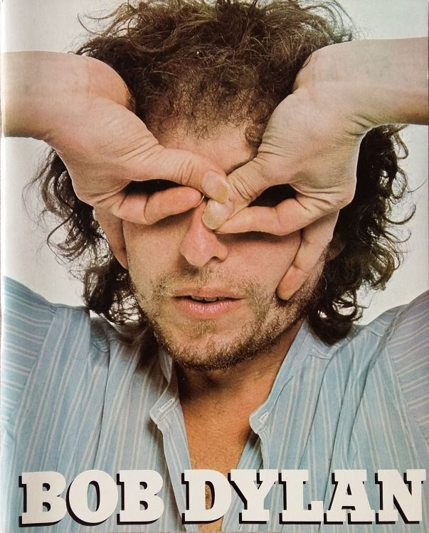 Bob Dylan 1978 world tour Programme