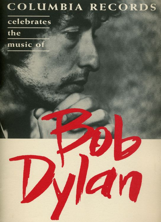 Bob Dylan 30th anniversary concert celebration 1992 Programme