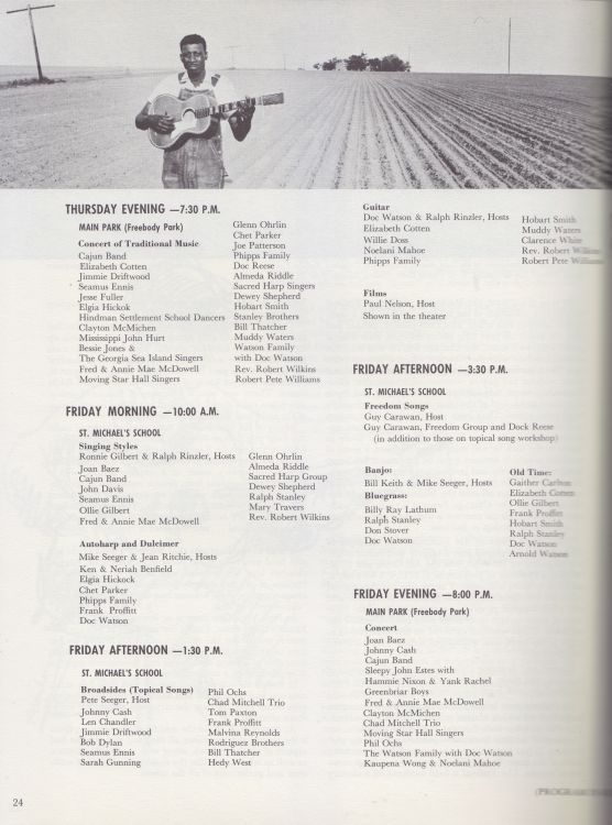 newport 1964 programme inner page 3