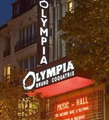 L'Olympia, Paris outside