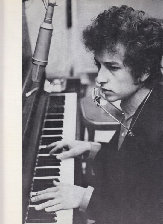 Paris 24 May 1966 Olympia Bob Dylan Programme inner 3