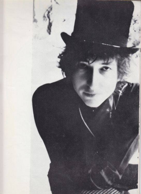 Paris 24 May 1966 Olympia Bob Dylan Programme inner 5