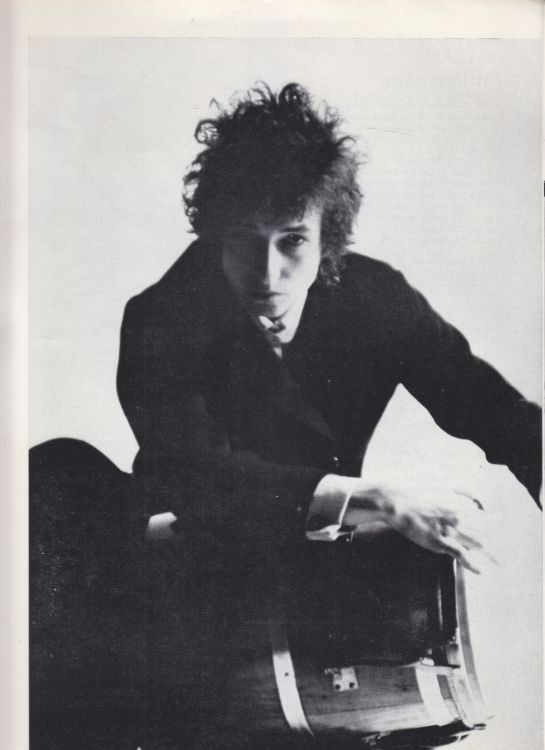 Paris 24 May 1966 Olympia Bob Dylan Programme inner 7