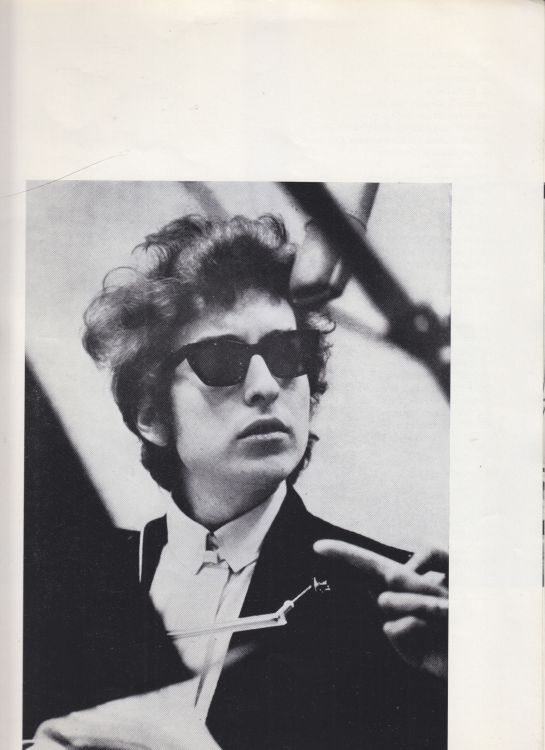 Paris 24 May 1966 Olympia Bob Dylan Programme inner 9