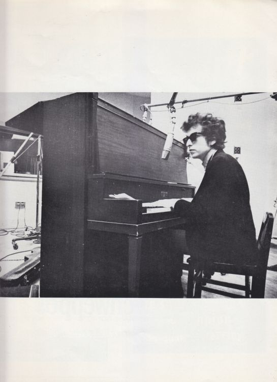 Paris 24 May 1966 Olympia Bob Dylan Programme inner 11