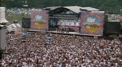 woodstock 1994 stage and crowd