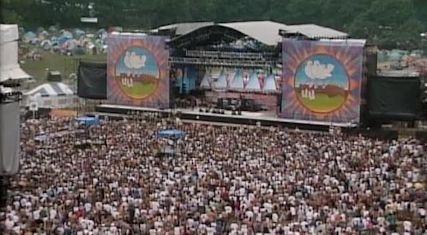 Bob Dylan 1994 Woodstock Programme