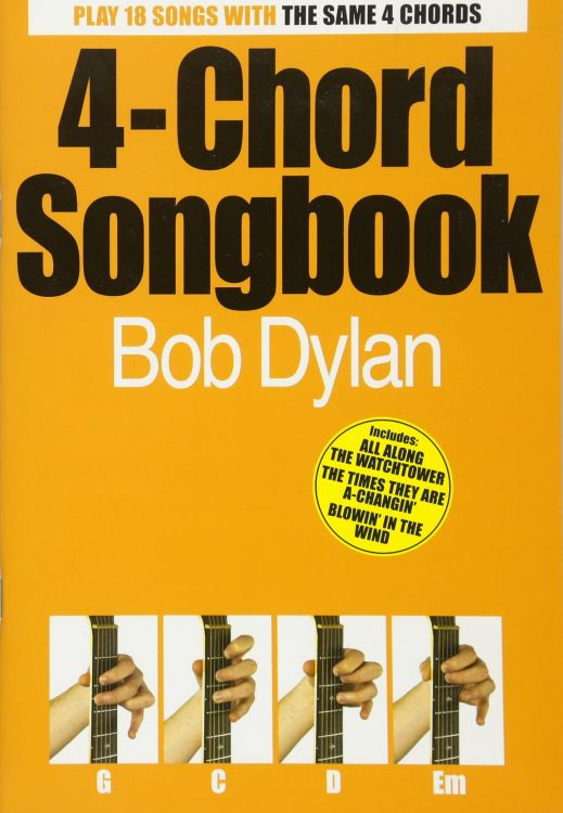 bob dylan 4-chord songbook