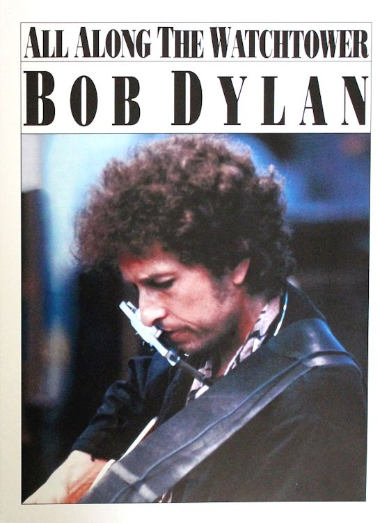 bob dylan all along the watchtower music sales sheet music